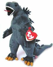 ty Classic Beanie Babys Godzilla Plush Doll (black eye) stuffed toy Japan F/S