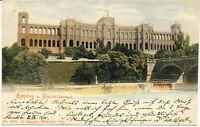 AK München, Maximilianeum, Landtag, gel. am 22.7.1900 nach Wunsiedel