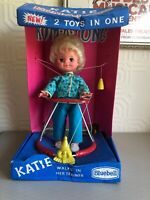 VINTAGE DOLL KATIE KUM A LONG BLUEBELL DOLLS IN ORIGINAL BOX circa 1960s/70s