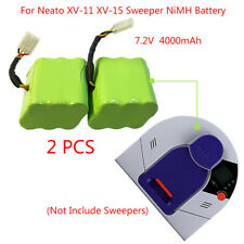 2 Pack Replacement Neato Vacuum Cleaner XV-11/XV-15 7.2V 4000mAh NiMH Battery