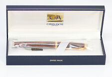 Caran d'Ache Geneve Marble Brown Lacquer Fountain Pen