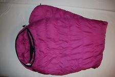 Marmot Mountain Works Ptarmigan 0 Goose Down Sleeping Bag pink Long USA Vintage