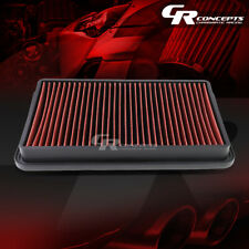RED WASHABLE HIGH FLOW AIR FILTER FOR 97-01 TOYOTA CAMRY 97-04 AVALON SOLORA