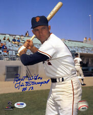 Jim Davenport SIGNED 8x10 Photo San Francisco Giants + INSC PSA/DNA AUTOGRAPHED