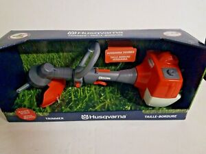Husqvarna Kids Toy Trimmer Edger Weed Eater Realistic Lighthed Engine Sound