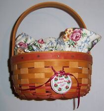 Longaberger Rings and Things 1998 Mothers Day Basket with Liner