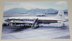 Royal Air Cambodge Douglas DC-6B XU-IAJ, Kai Tak, Aviation Aircraft Photograph