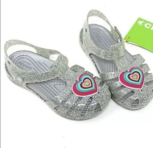 Crocs Isabella Novelty Sandals Silver