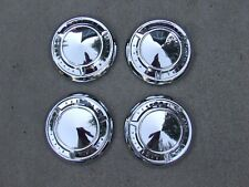 1961-66 Pontiac poverty hub caps (4), NOS! 9700635 Catalina Ventura