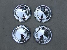 1961-66 Pontiac poverty hub caps (4), NOS! 9700635 Catalina Ventura