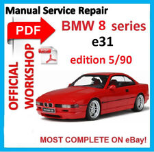 # OFFICIAL WORKSHOP MANUAL service repair FOR BMW 8 Series e31 1992 - 1999