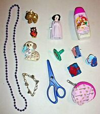Lot of Child Girls Toys Magnets Body Wash Scissors Bracelet Necklace Free Ship