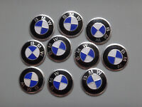 10 x 11mm BMW Replacement Key Fob Badge Sticker