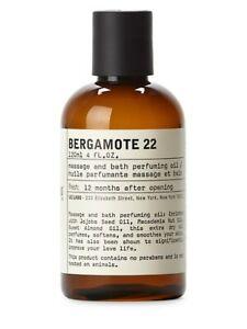 Bergamote 22 Body Oil LE LABO  120ml 4FL OZ MSRP $70