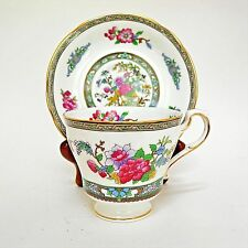 Paragon Tree of Kashmir Footed Teacup Floral
