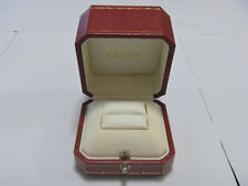 Vintage 1990/2000's Cartier Ring Jewelry Box Case DELUXE TYPE - SALE