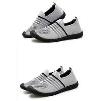 Mens Soft Slip On Outdoor Breathable Hollow Out Loafers Leisure Shoes Summer New