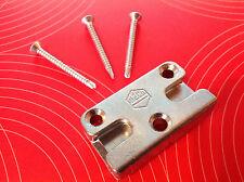 MACO 96591 bzw. 96491B Sicherheits-Schließblech Pilzkopf inkl. 3 Schrauben Neu