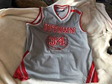 🇺🇸Athletic Series Uptown State 34 Fnf Sportwear Basketball Jersey Men's 3Xl