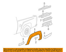 GM OEM Bed-Wheel Well Fender Flare Molding Right 25937108