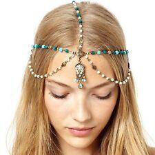 Bande de cheveux bijoux Boho Chic Hippie Festival Tribal Belly Dance Gypsy bohème