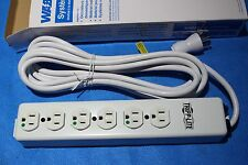 Waber TRIPP LITE PS-615-HG 6 Outlet Hospital Grade Power Strip 15A NIB New