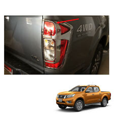 Tail Lamp Light Cover Chrome LH RH for Nissan NP300 Navara Frontier 2015 16 17