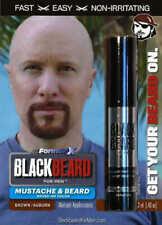 Blackbeard for Men - Sofortiger Pinsel auf Bart- und Schnurrbartfarbe - Auburn