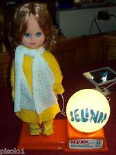 Vintage Bambola Sebino-Belinda con lampada