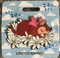 2019 Disney D23 Expo WDI MOG Alice In Wonderland Dinah Cat Nap Pin LE 300