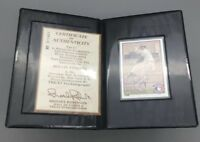 1992 Upper Deck Heroes Autograph Rollie Fingers HOF 92 - Fast Shipping - C27