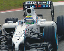 FELIPE MASSA SIGNED AUTOGRAPHED F1 RACING 2014 WILLIAMS 8X10 PHOTO  PROOF #2