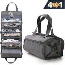 4-in-1 Hanging Toiletry Bag Travel Toiletries Bag for Women & Men - Roll Up Kit