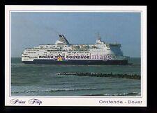 FE3084 - Dover-Oostende Ferry - Prins Filip , built 1991 - postcard