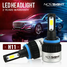 NOVSIGHT H11 LED Headlight Light Bulbs White Beam Replace Halogen 72W 9000LM AU