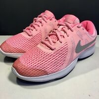 Nike Revolution 4 Pink Trainers UK Size 5.5 eu38.5 Running Gym Trainers