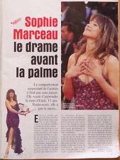 SOPHIE MARCEAU / CLAUDIA SCHIFFER Coupure de presse 1999 - French clippings