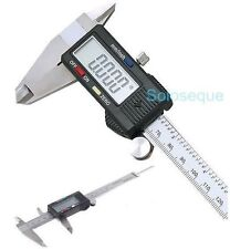 "CALIBRE PIE DE REY DIGITAL CALIPER VERNIER GAUGE 0,01 150 mm 6"" ACERO INOXIDABLE"