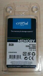 Crucial 8 GB DDR4-2666 SODIMM Memory RAM (CT8G4SFS8266)