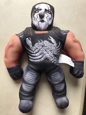 WCW WWF WWE 1998 Bashin' Brawlers - NWO Sting -  Plush Toy -Vintage Rare
