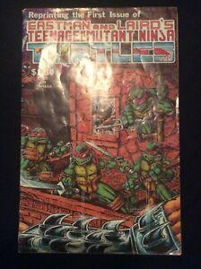 Teenage Mutant Ninja Turtles #1 1984 Mirage Comics Eastman & Laird 4th Printing