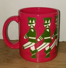 WAECHTERSBACH GERMANY Christmas Mug Toy Marching Soldier Nutcracker, Red & Green