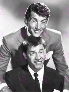 Vintage Photography Celebrities Dean Martin Jerry Lewis Duo Canvas Art Print