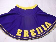 "New listing Halloween Cheerleader skirt ""EREDIA"" pep squad purple skirt. Small"