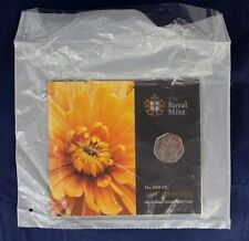 """2009 Royal Mint 50p coin """"Kew Gardens"""" in folder - Factory Sealed   (A10/9)"""