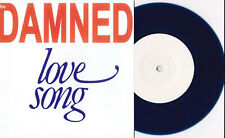 """Damned - Love Song + 2 7"""" BLUE WAX ED HOLLIS VERSIONS / HOLLAND SLEEVE Variant"""