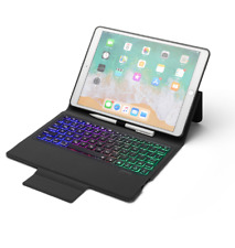 Case Stand Cover With Bluetooth Keyboard for Apple ipad 10.2 Tablet PC