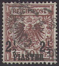 Deutsche Post Türkei Nr. 10a gestempelt geprüft