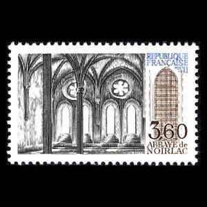 France 1983 - Noirlac Abbey Architecture - Sc 1856 MNH