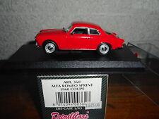 DETAIL CAR  1/43  alfa romeo giulieta sprint + BOITE N° 396 de 450 vendu